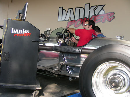 Tank Car on Dyno