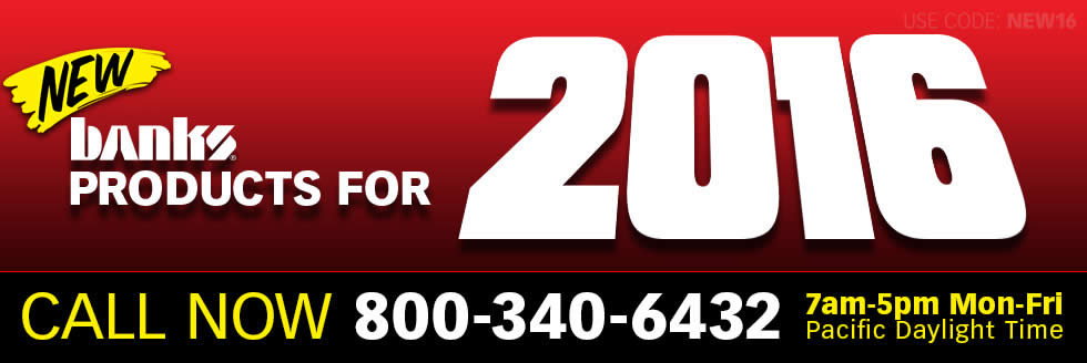 NEW Banks Products for 2016, call now 800-340-6432