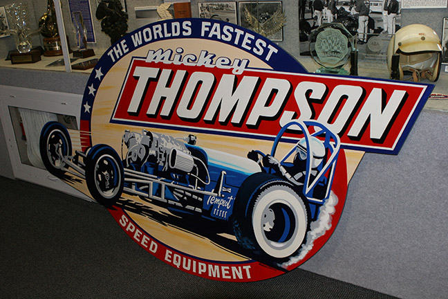 Mickey Thompson exhibit