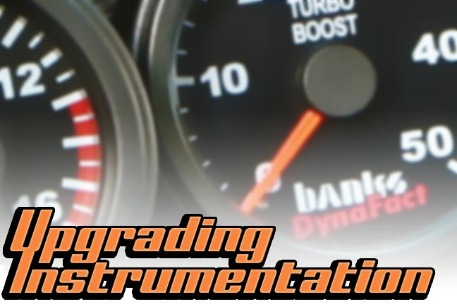 instrumentation upgrades