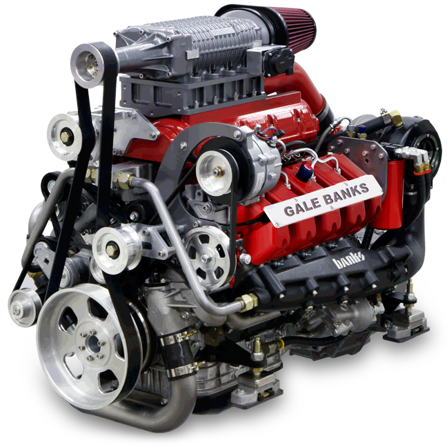 Banks Sequential Super-Turbo Diesel Marine Engine