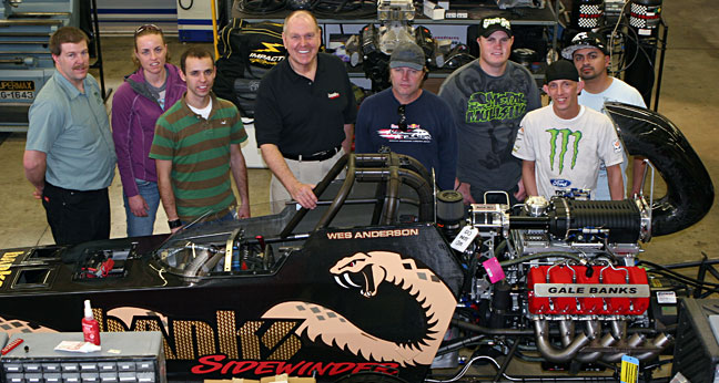 Utah Valley University visits Gale Banks Engineering