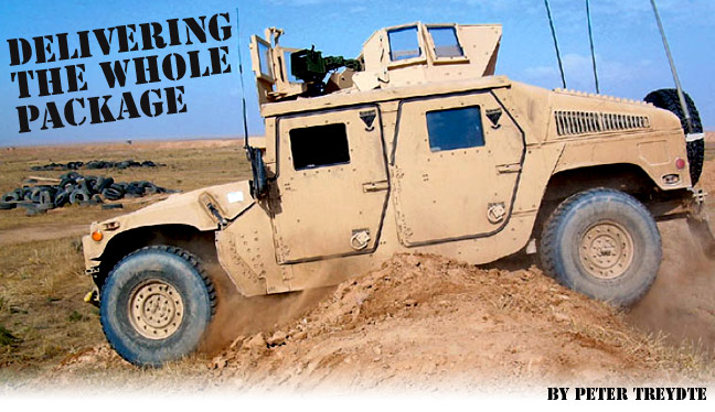 Gale Banks Engineering and military Humvees