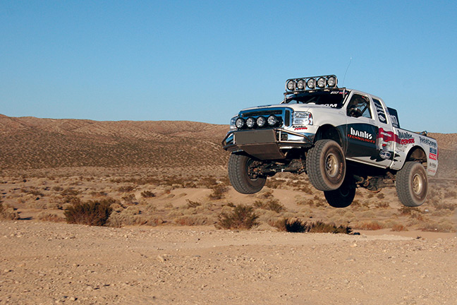 Banks Power Stroke desert racing