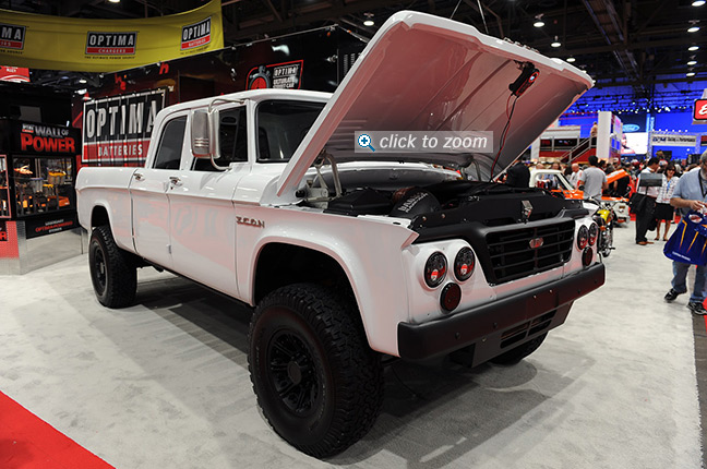 ICON 4x4 and Banks Power at SEMA 2012