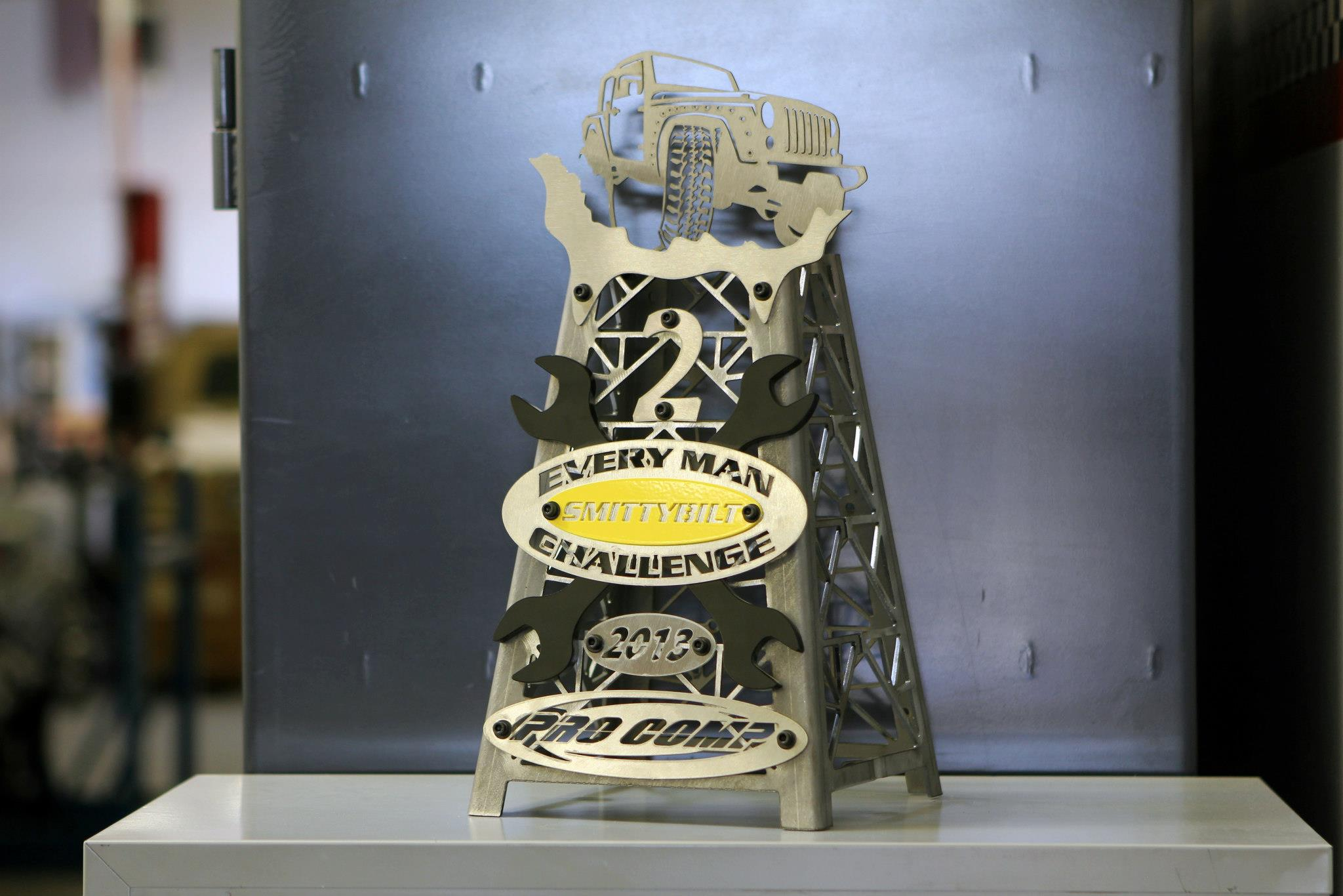 king of the hammers trophy