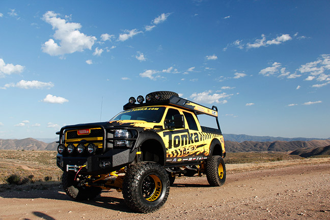 Tonka Truck gets Banks Power