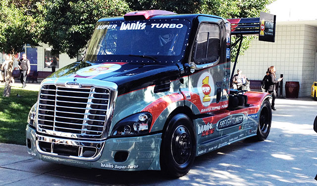 Mike Ryan's Banks Super-Turbo Freightliner