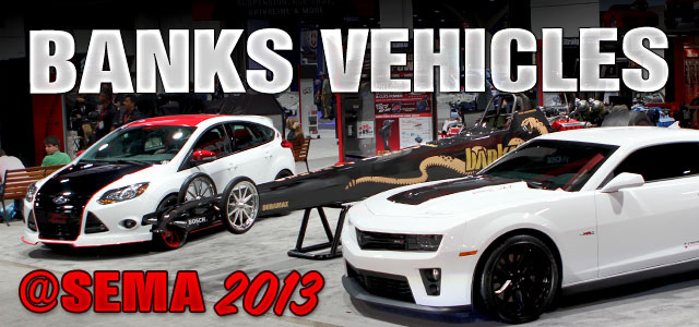 Gale Banks Engineering represents on the vehicles of SEMA Show 2013