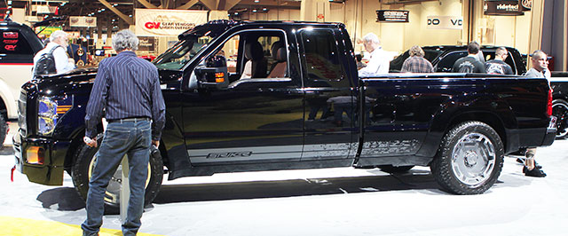 Striker X — 2013 F250 Super Duty 4x4 built by Hulst Customs