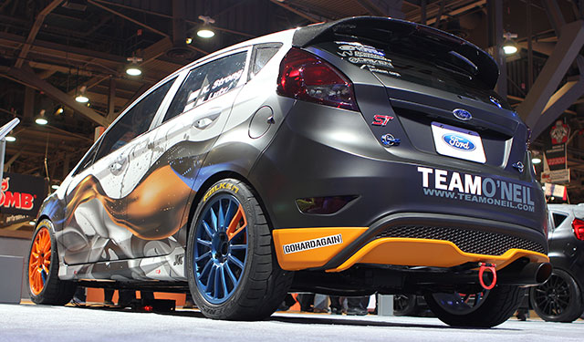 2014 Ford Fiesta ST Rally built by Ice Nine Group