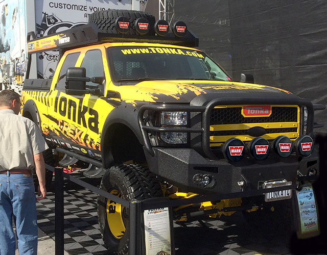 Tonka T-Rex 2011 F-250 built by Funrise Toy Corporation