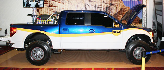 WD-40/SEMA Cares Foose Ford F-150 built by WD-40 and SEMA Cares