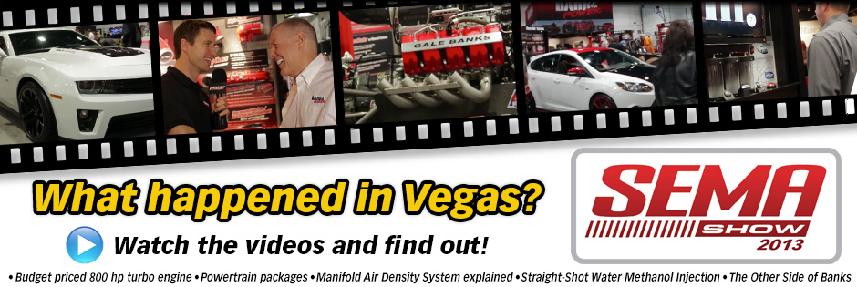 What happened at SEMA? Watch the videos to find out