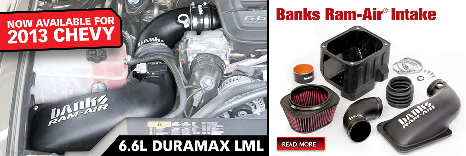 Banks Ram-Air now available for 2011-13 Chevy LML