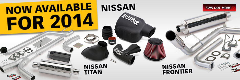 Monster Exhaust and Banks Ram-Air now available for 2014 Nissan