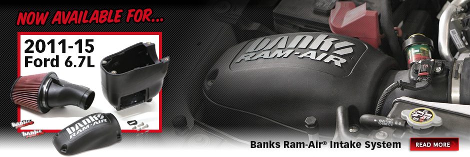 Banks Ram-Air® now available for 2011-15 Ford 6.7L