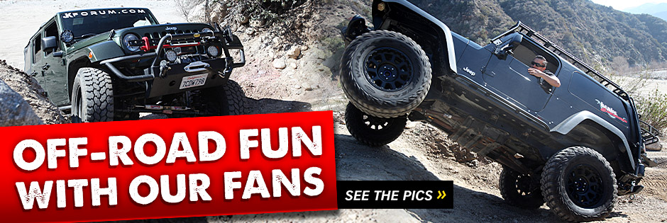 We recently went off-roading with some of our fans. Check it out