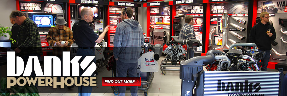 Banks PowerHouse is open to the public. Come check out the recently overhauled showroom