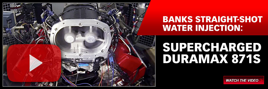 Banks water injection: Supercharged Duramax 871S