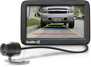 Banks iQ backup camera