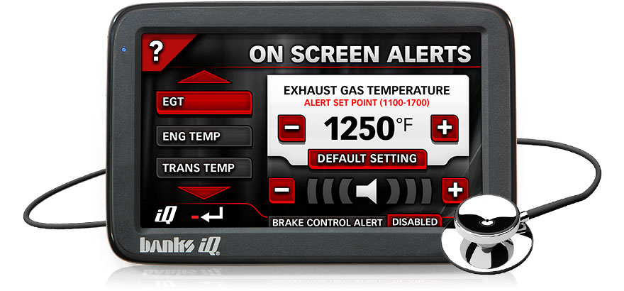 Monitor vital system components and set alerts