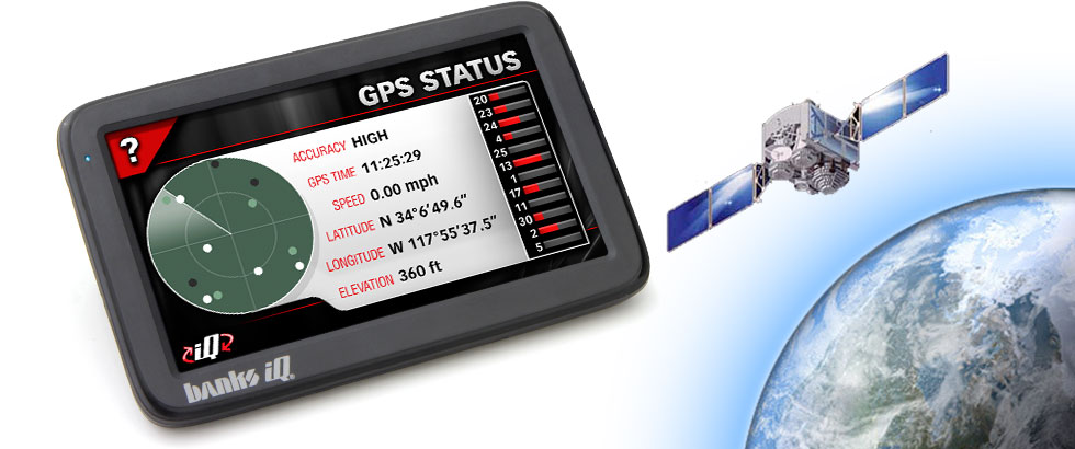 With it's enhanced built-in GPS capabilities, Banks iQ Flash is highly capable.