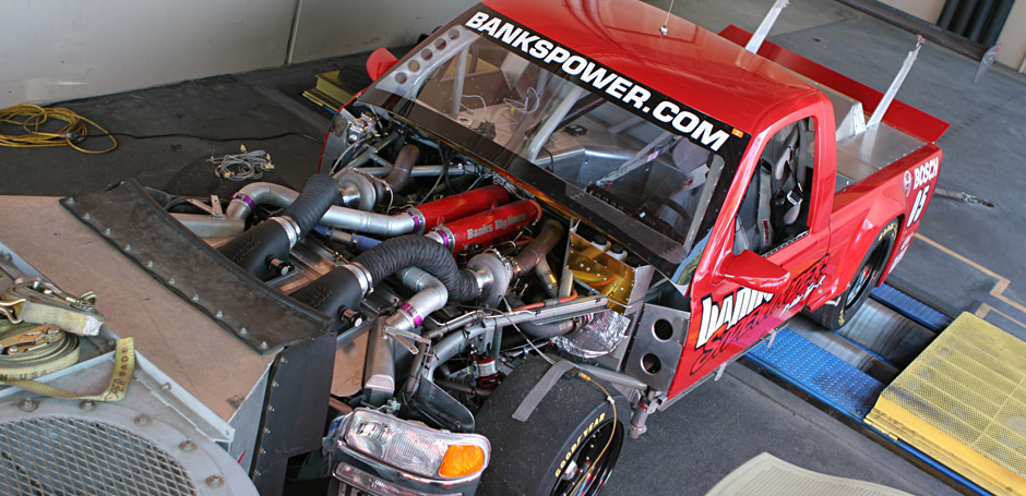On the dyno - Extensive tuning and testing go into every Banks vehicle