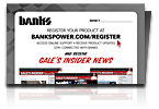 Banks Power Product Registration