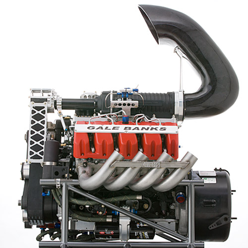 Banks Sidewinder Supercharged engine
