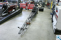 dragster stripped down