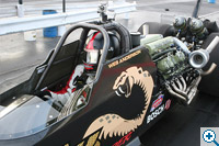 Banks Sidewinder Top Diesel Dragster with driver Wes Anderson