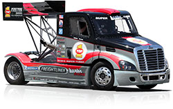 Mike Ryan's Banks Racing Freightliner