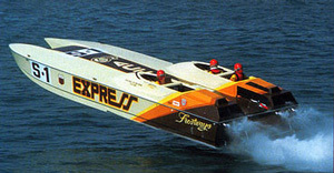 Banks marine racing