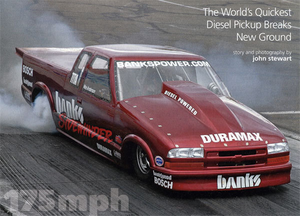 World's Quickest Diesel Pickup