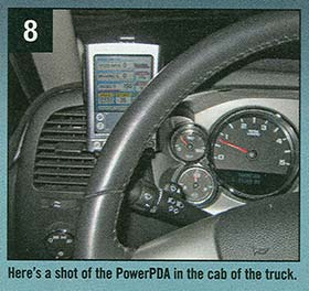 shot of PowerPDA