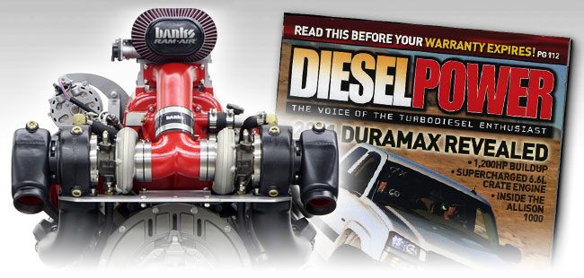 Diesel Power reviews Banks marine engine