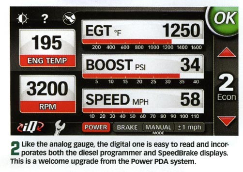 easy to read gauges