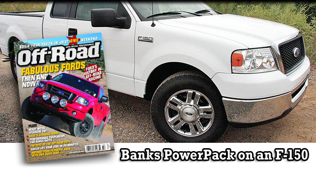 Banks in Off-Road magazine
