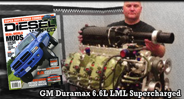 Diesel World reviews Gale Banks Engineering supercharged Duramax