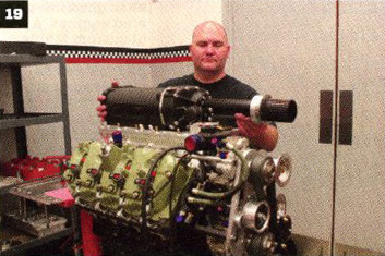 Whipple 4-liter screw-type supercharger