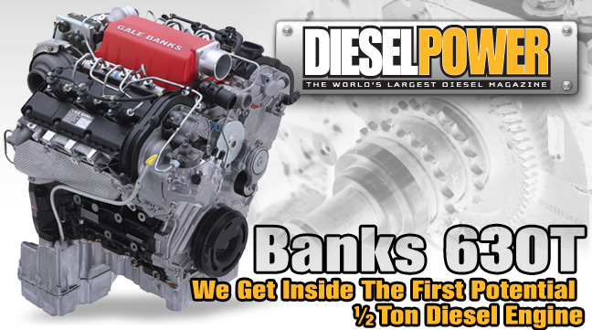 Diesel Power reviews Gale Banks Engineering's VM Motori engine