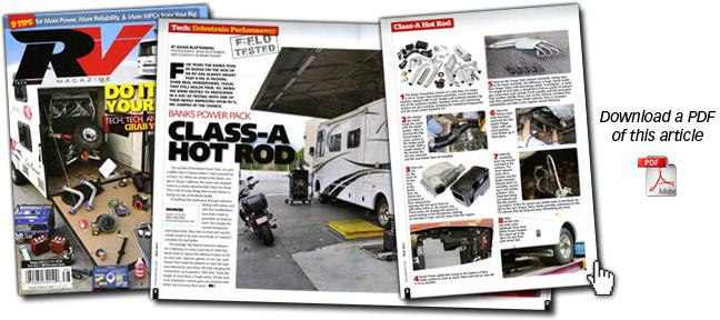 RV Magazine reviews Banks PowerPack