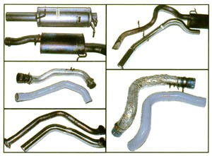 Intake and Exhaust tubing