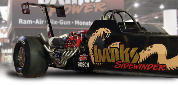 Banks new diesel dragster unveiled at SEMA
