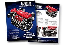 Banks Marine Engine spec sheet