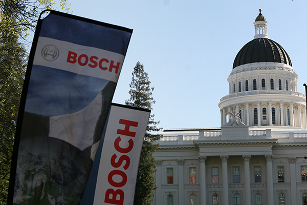 The Bosch-sponsored event was held near the California capitol