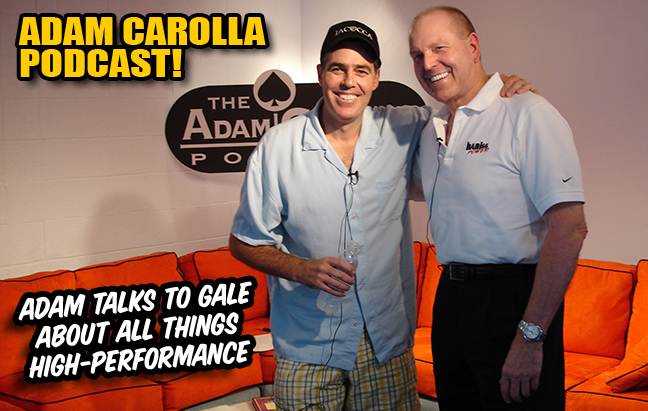 Adam Carolla and Gale Banks