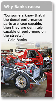 Why Banks races