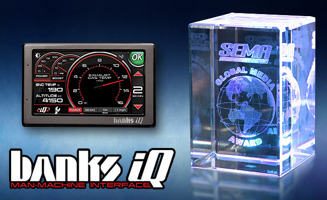 Banks iQ wins three awards at SEMA